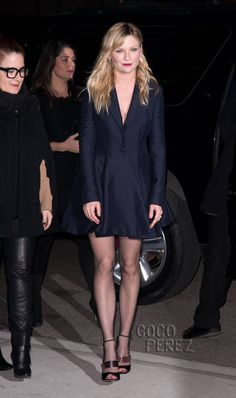Kirsten Dunst wears Christian Dior to On The Road premiere in New York.