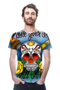 Waste your life, Be an Artist! Tee Shirt