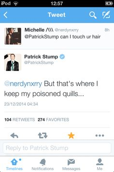 Patrick' twitter QnA's  OH MY GOD PATRICK NOW WE KNOW