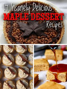 17 insanely delicious maple dessert recipes