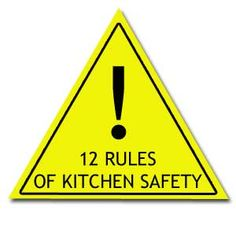1000 images about kitchen safety on pinterest safety for 3 kitchen safety rules