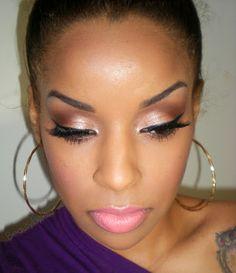 Beauty By Lee: Review/Tutorial: L'oréal Paris True Match foundation/ Hip Studio Secret shadow duo compacts