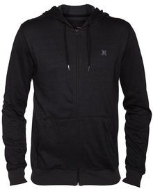 Stay warm and dry in the Dri-FIT Fleece Zip Men's Hoodie with sweat-wicking Dri-FIT technology.