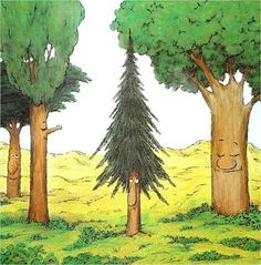 Contes amb valors: El PETIT AVET Spanish 1, Show Video, Autumn Nature, Tree Leaves, Nature Crafts, Conte, Fairy Tales, Clip Art, Painting