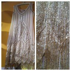 Vintage Flapper Dress - Very 1920s - The Great Gatsby - roaring twenties - Jazz Age
