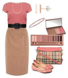 Fall Style #1 by gillgal on Polyvore featuring Miss Selfridge, Jaeger, Burberry, Henri Bendel, Alice + Olivia and Urban Decay