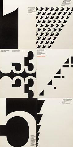 Typographische Monatsblätter 1962 issues - Fonts In Use Graphisches Design, Typo Design, Buch Design, Swiss Design, Graphic Design Posters, Graphic Design Typography, Lettering Design, Graphic Design Inspiration, Layout Design