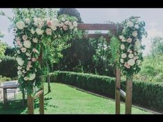 Wedding Flowers, Bouquets , Arbour and more by Hide The Receipt - YouTube