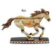 Horse of a Different Color Run Statue