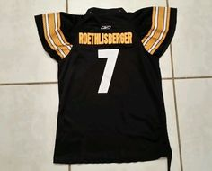 Rare REEBOK Pittsburgh Steelers Ben Roethlisberger NFL Jersey Women's Large in Sports Mem, Cards & Fan Shop, Fan Apparel & Souvenirs, Football-NFL | eBay