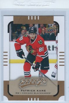 Patrick Kane 2015-16 Upper Deck MVP Short Print #143 Chicago Blackhawks