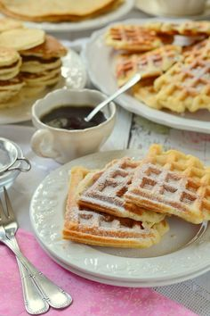 Pancake Dessert, Waffles, Pancakes, Sandwiches, Food Porn, Brunch, Breakfast, Sweet, France