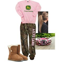 """Lazy Days"" by camo-ammo-queen on Polyvore"