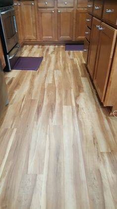 A Beautiful Installation Of Coretec Colors Red River
