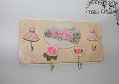 Hook bar, kitchen towel holder, key board , key holder, holder ,wood, key