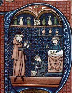 Deuxième moitié XIIIe : Canon de la médecine, Avicenne, 1250-1300, Paris (Besançon, B.m., ms. 0457, f. 365, 457)