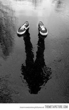 REFLECTION : i'm not there !!