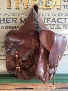 New saddle bag! Handmade by Thedileathers