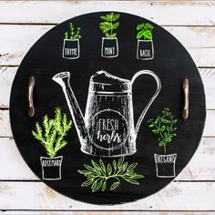 I share simple DIY projects and crafts, home decor ideas and helpful tips as well as easy recipes for week-night meals. Chalk Crafts, Chalk Art, Wood Crafts, Diy Crafts, Chalk Paint Diy, Diy Projects Videos, Diy Craft Projects, Chalk Design, Woodworking Videos