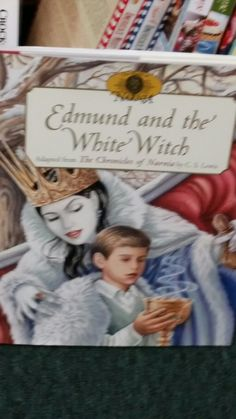 Edmund and the White Witch, C. S. Lewis (Narnia) - Children's books. Booth 238
