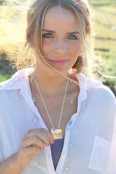 Shine Necklace - via the shine project. your purchase helps employ at risk youth