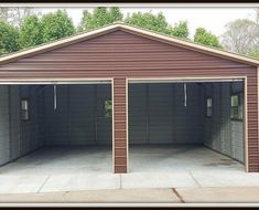 The chain-drive system has a metal chain raising the garage door up or down along a set of tracks. The chain-drive system is the most typical and typically the most cost effective system. Basement Remodel Diy, Garage Remodel, Basement Remodeling, Carport Garage, Garage Plans, Garage Ideas, Barn Garage, Garage Workshop, Metal Garage Buildings