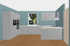 White Mahlzeitrational Kitchen With Wooden Worktopscreate Glamorous Kitchen Design Planner Free Design Decoration