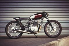 Yamaha XS650 Cafe Racer - Clutch Custom Motorcycles