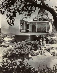Monsanto House of the Future (1960), photo by Vincent Bonini