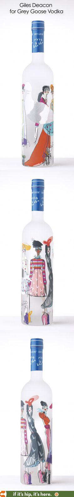 Giles Deacon's special bottle for Grey Goose Vodka
