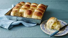 This recipe, from reader Carole Miller Radford, originally appeared in Southern Living's November 1995 issue. Radford shared her family's favorite Thanksgiving menu, which included her wonderfully easy and delicious Make-Ahead Yeast Rolls. Our test … Best Christmas Dinner Recipes, Easy Christmas Dinner, Holiday Recipes, Holiday Dinner, Holiday Ideas, Christmas Meals, Christmas Cooking, Christmas 2019, Bread Recipes
