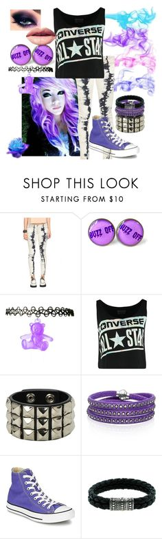 """""""violet dream"""" by i-m-me-5er ❤ liked on Polyvore featuring Converse, Sif Jakobs Jewellery, John Hardy and Easy Spirit"""