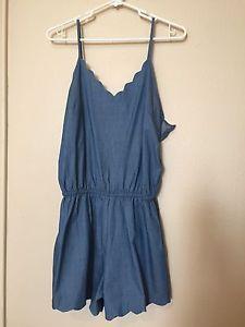 Chambray Romper from Stitch Fix by Pixley Size Medium | eBay