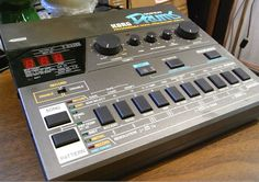 Korg DDM-110 Super Drums ~ 8bit, 15kHz sampling rate     #electronicmusic #synthesizer #instruments #electroacoustic #sound #synthesis