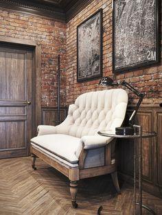 Vintage workspace for a private residence Denis Krasikov 9