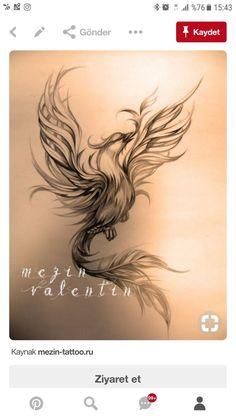 Sketches of tattoos. - Sketches of tattoos. Tattoo artist Valentin Mez … Sketches of tattoos. Phoenix Tattoo Feminine, Phoenix Bird Tattoos, Phoenix Tattoo Design, Feather Tattoos, Phoenix Tattoo Girl, Phoenix Tattoo Sleeve, Lotus Flower Tattoos, Rising Phoenix Tattoo, Phoenix Design