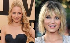 Dianna Agron - long hair and short hair!
