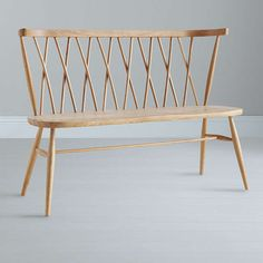 Buyercol for John Lewis Chiltern 3-Seater Dining Bench, Light Wood Online at johnlewis.com
