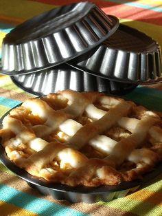 Cocina amiga: Tartaletas de manzana - sin leche, sin huevo, sin frutos secos, sin soja