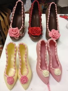 Lots of Chocolate Shoes