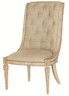 Jessica McClintock Home - The Boutique Collection Upholstered Side Chair by American Drew