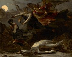 Justice and Divine Vengeance Pursuing Crime; Pierre-Paul Prud'hon (French, 1758…