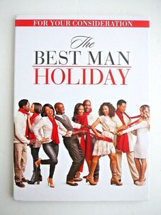 The Best Man Holiday DVD Special Edition FYC Academy NEW Taye Diggs Nia Long