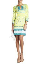 Sunny summer look - Lia Jacquard Dress
