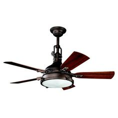 Indoor/Outdoor First Class Period Ceiling Fan - 2 Finishes