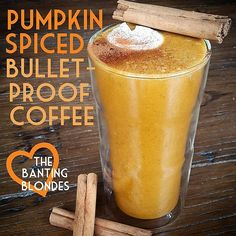 thebantingblondes | PUMPKIN SPICED BULLETPROOF COFFEE