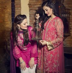 MINAL AND AIMEN for eid photoshoot #go desi!!!                                                                                                                                                                                 More