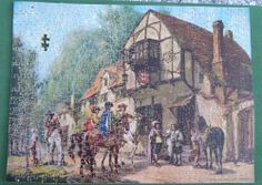 VINTAGE C & Co BERYL SERIES WOODEN JIGSAW PUZZLE - The New Mount - 550 pieces #CCoLondon