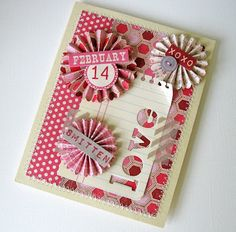 Adorable! by Kathy Martin Very cute, I have been making rosettes all morning, now I know what to do with them
