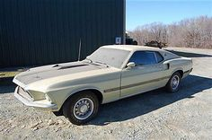 Ford : Mustang Mach 1 1969 Ford Mustang Mach 1 351 Motor True Barn Finds Matching Numbers - http://www.usabarnfinds.com/archives/3045